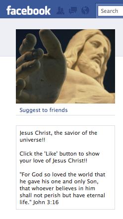 Christ facebook